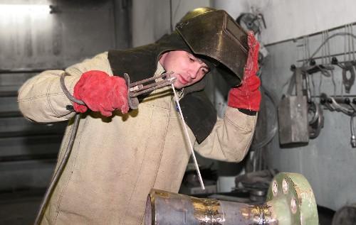 Лучший сварщик России Максим Осипов работает в «Газпроме»