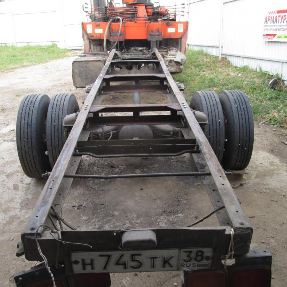 Ремонт и Сварка рамы грузовика