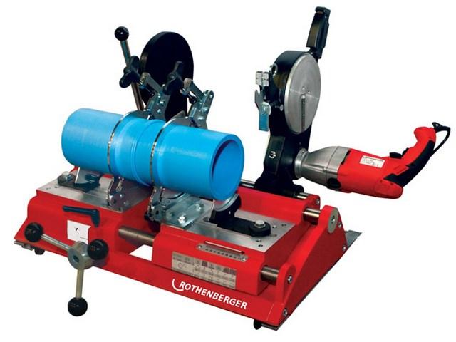 Аппарат для стыковой сварки полипропиленовых труб большого диаметра