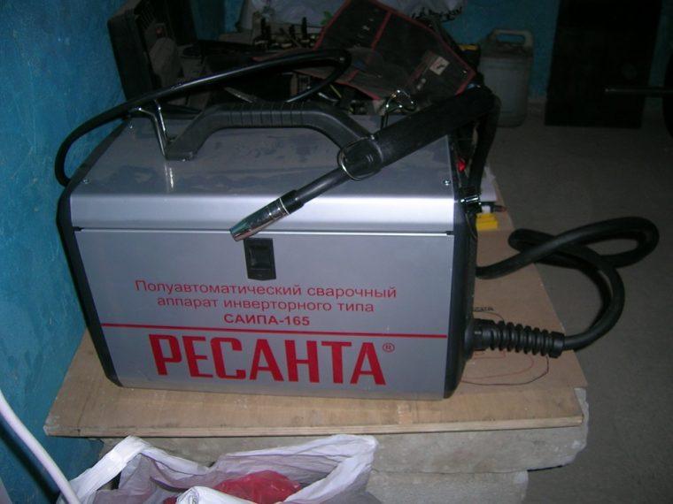 Комплектация сварочного полуавтомата Ресанта САИПА-165