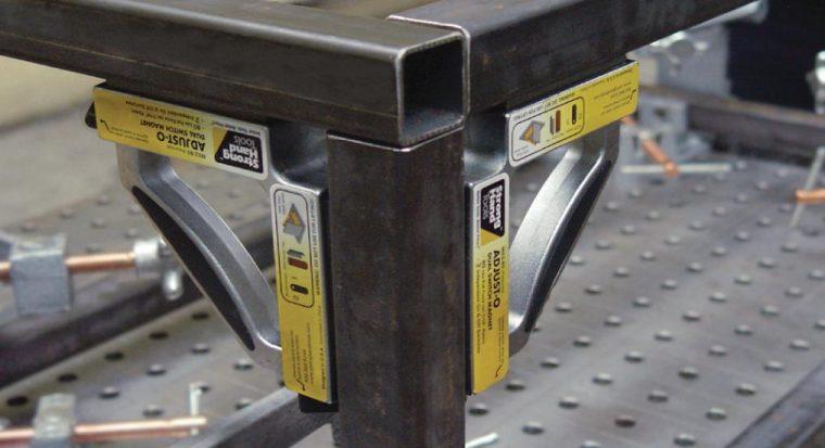 Использование магнитных угольников для сварки профильных труб