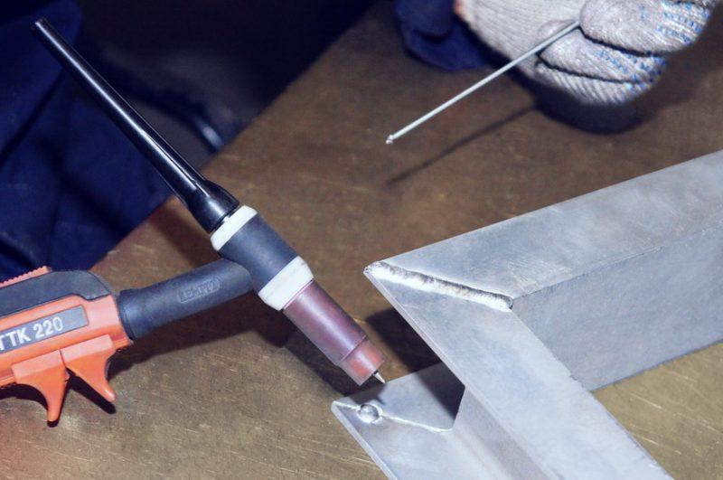 Особенности электродуговой сварки алюминия