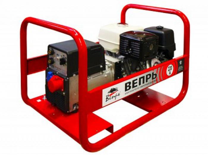 Сварочный генератор ВЕПРЬ с двигателем Honda