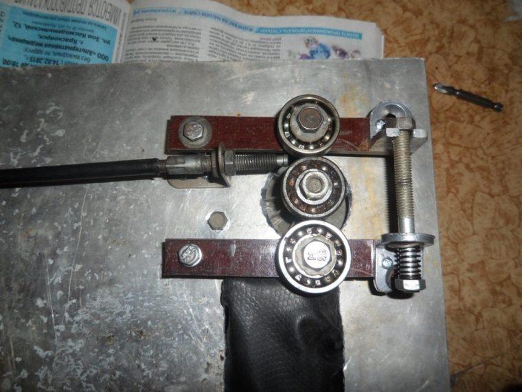 Механизм подачи сварочного полуавтомата