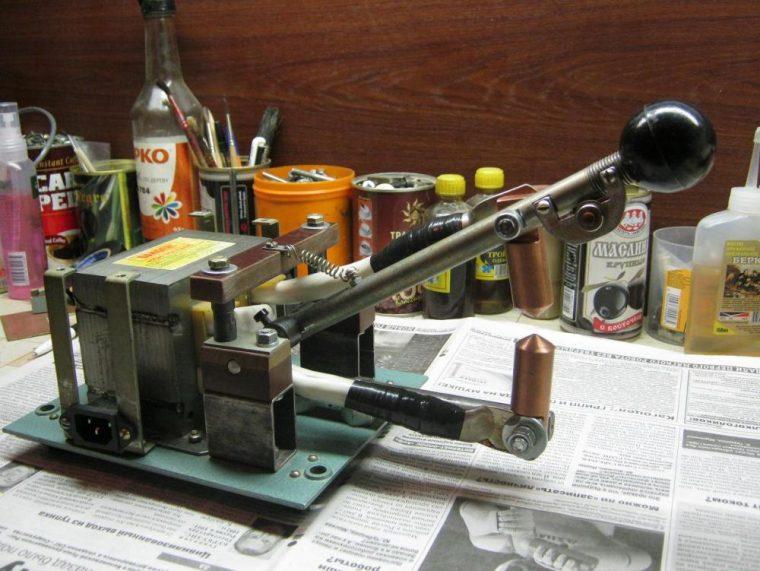 Самодельный аппарат для точечной сварки