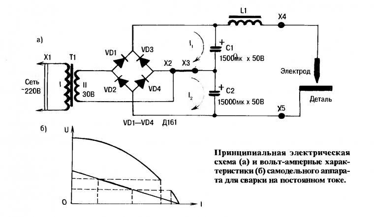 Аппарат точечной сварки  из микроволновки 68