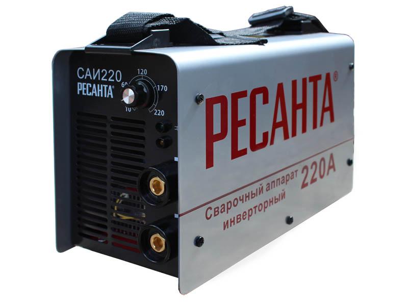 Сварочный инвертор Ресанта на 220 вольт