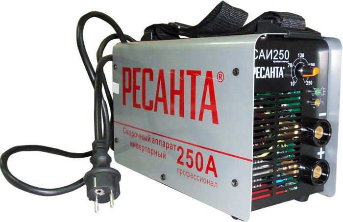 Внешний вид сварочного инвертора Ресанта САИ-250