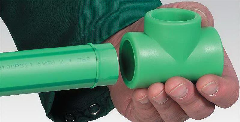 Муфтовый метод сварки полипропиленовых труб