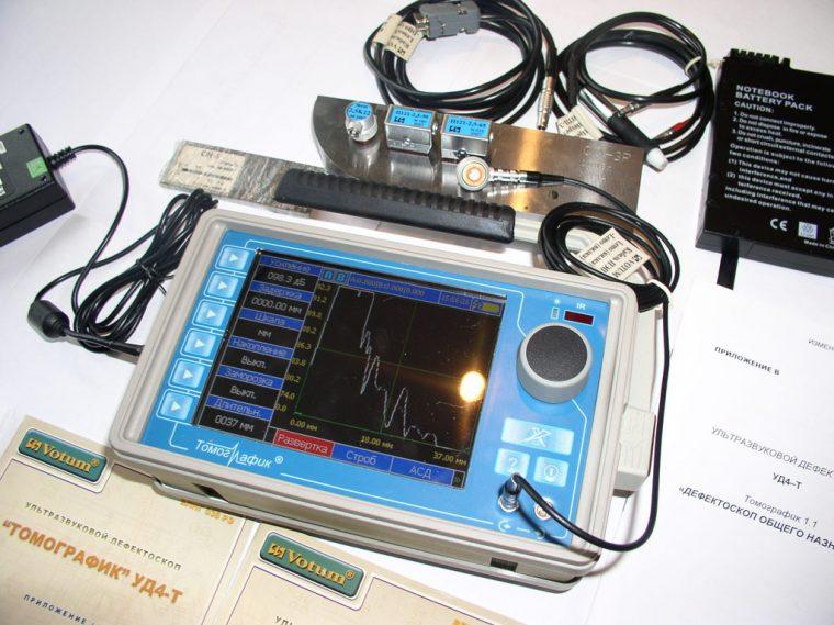 Ультразвуковой дефектоскоп для проверки сварных швов