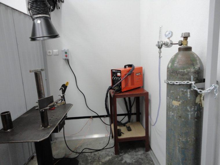 Оборудование для аргоннодуговой сварки