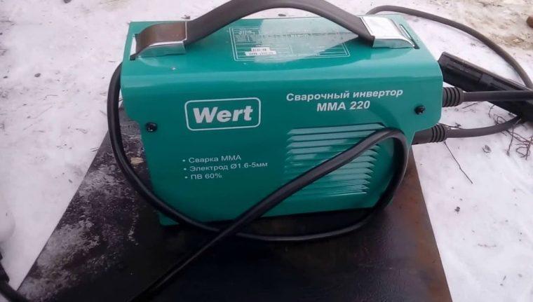 Сварочный инвертор Wert ММА 220