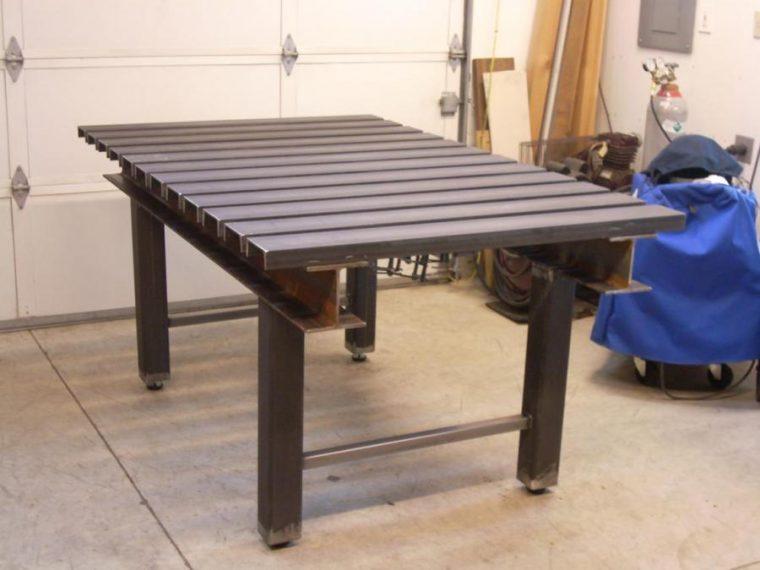 Самодельный сварочный стол из подручных материалов