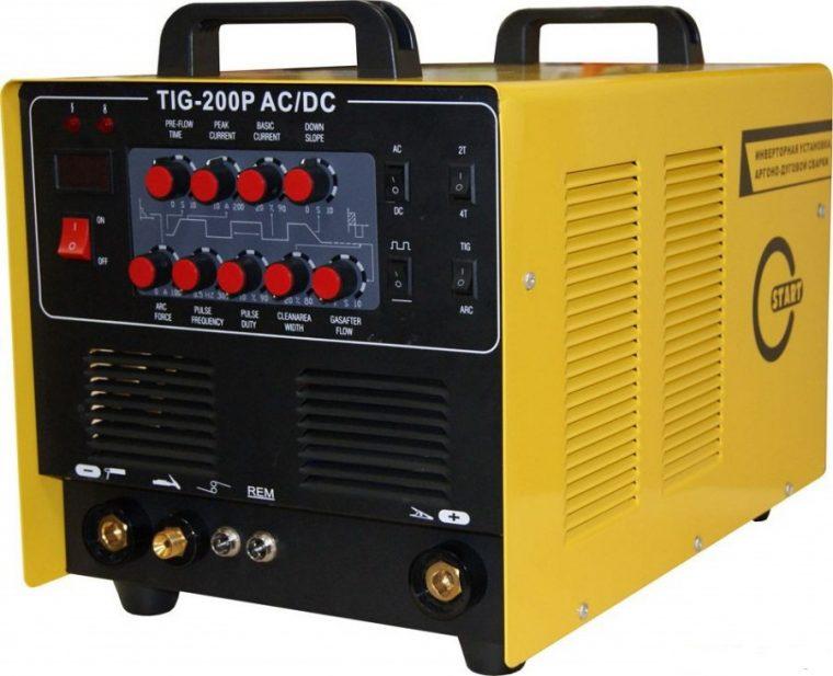 Универсальный сварочный инвертор СТАРТ 200 AC