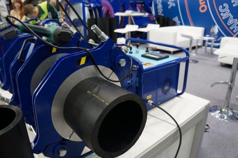 Оборудование для стыковой сварки пластиковых труб