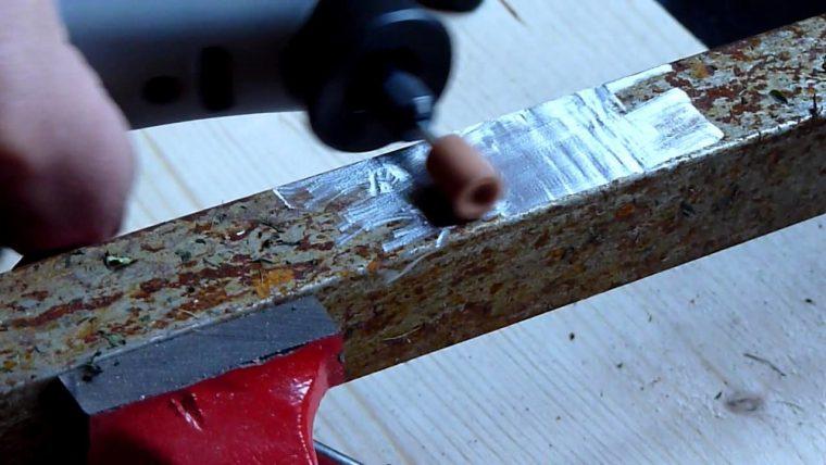 Зачистка металла перед сваркой