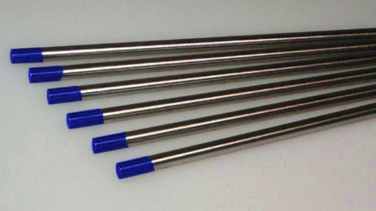 Вольфрамовые неплавящиеся электроды для сварки титана