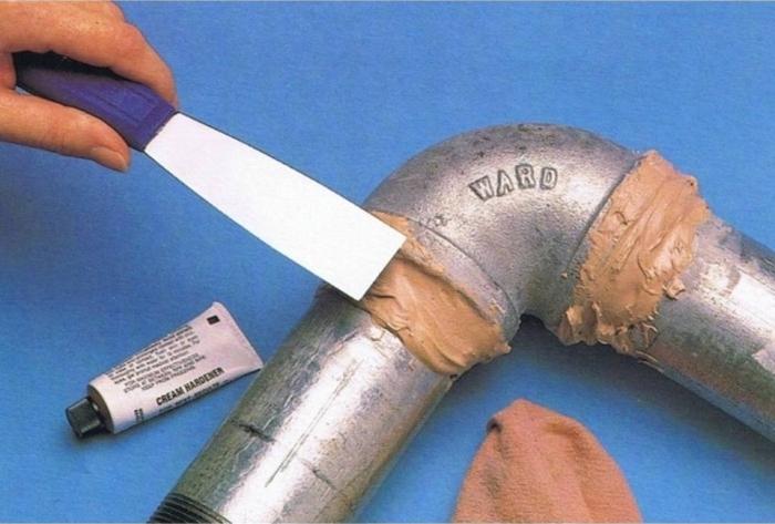 Соединение металлических труб с помощью холодной сварки