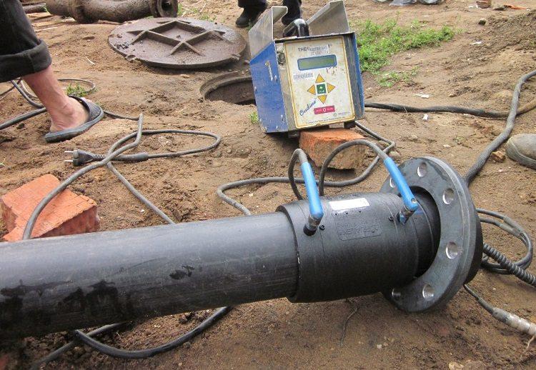 Электромуфтовая сварка платиковых труб