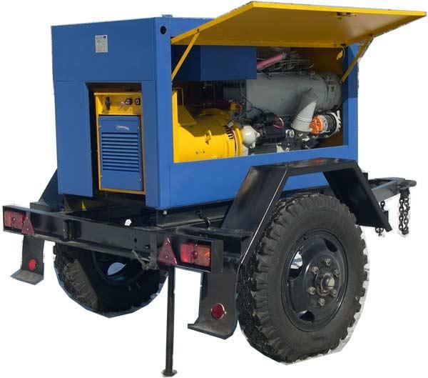 Сварочный дизельный агрегат модели АДД-4004