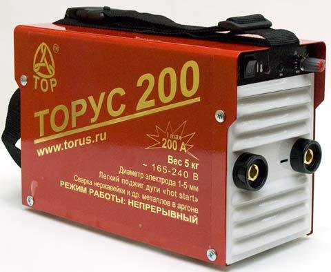 Инверторный сварочный аппарат Торус-200