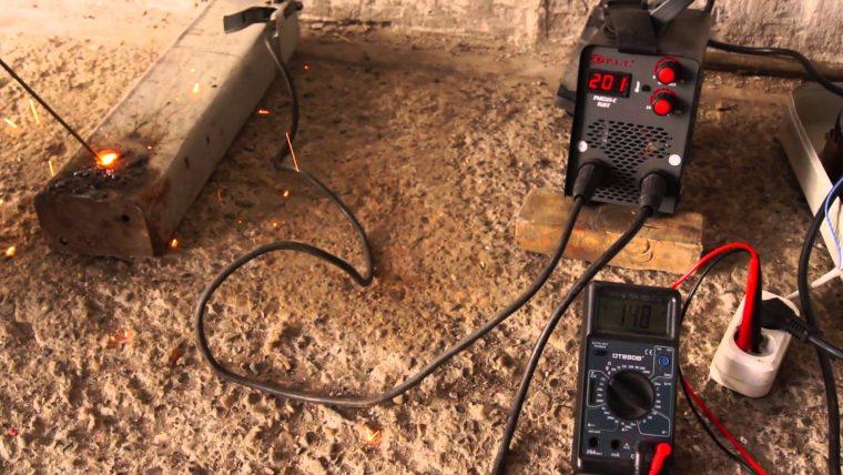 Использование сворочного инвертора от сети с пониженным напряжением