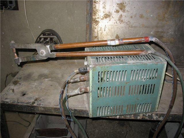 Трансформатор для точечной сварки металла