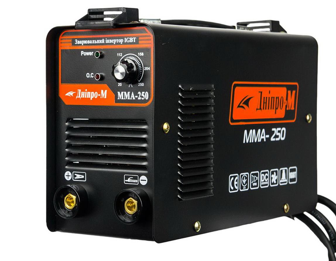 Сварочный инвертор Дніпро-М ММА-250