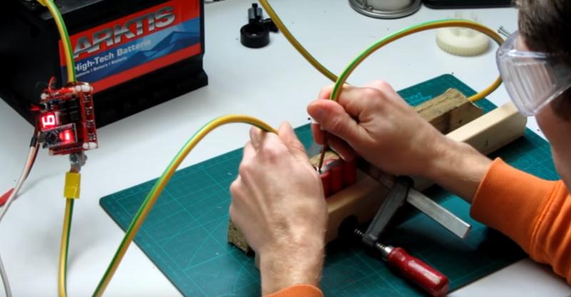Аппарат точечной сварки от АКБ