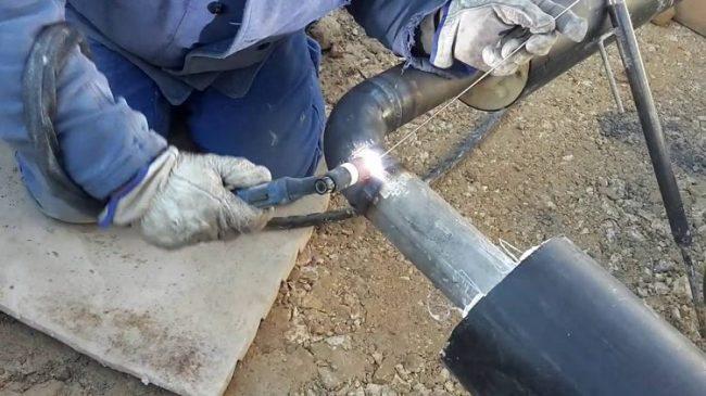 Как варить оцинкованную трубу