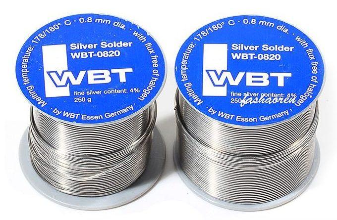 Припой WBT-0820 с содержанием серебра