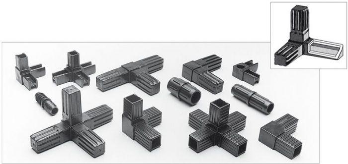 Фитинги для алюминиевого профиля