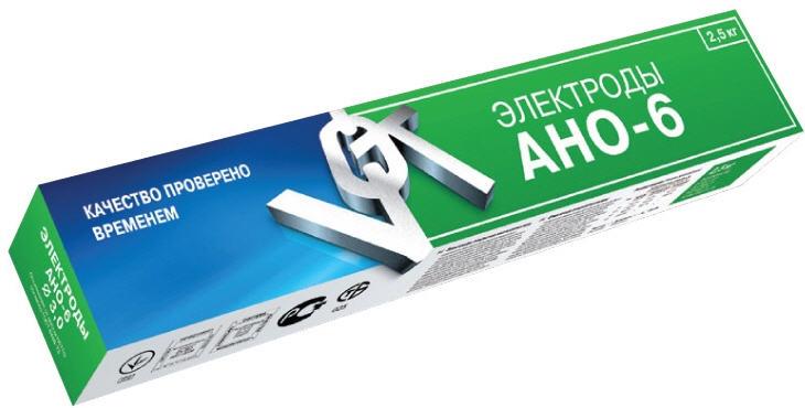 Сварочные электроды АНО–6 с рутиловым покрытием