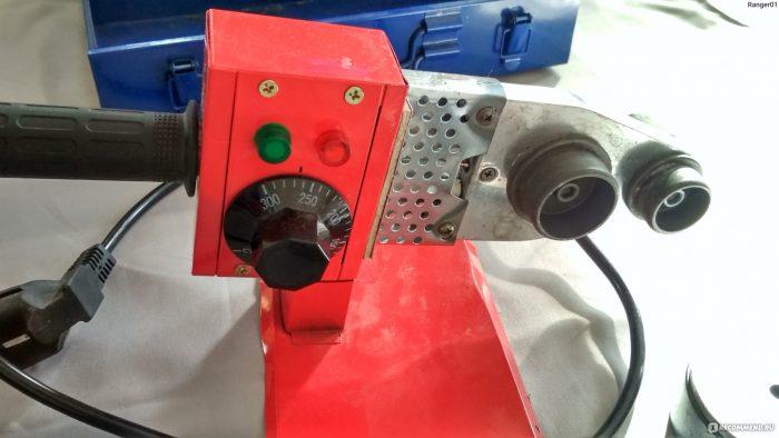 Паяльник для полипропилена с регулятором температуры