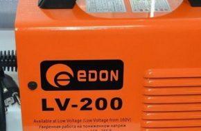 Обзор сварочного аппарата EDON-LV 200